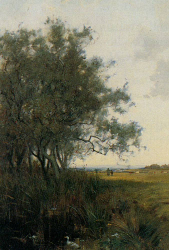 Walkton Kettering by Alfred East
