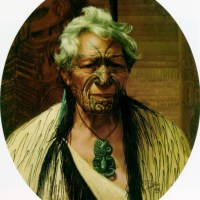 A Noble Northern Chief, Atama Paparangi by Charles Goldie