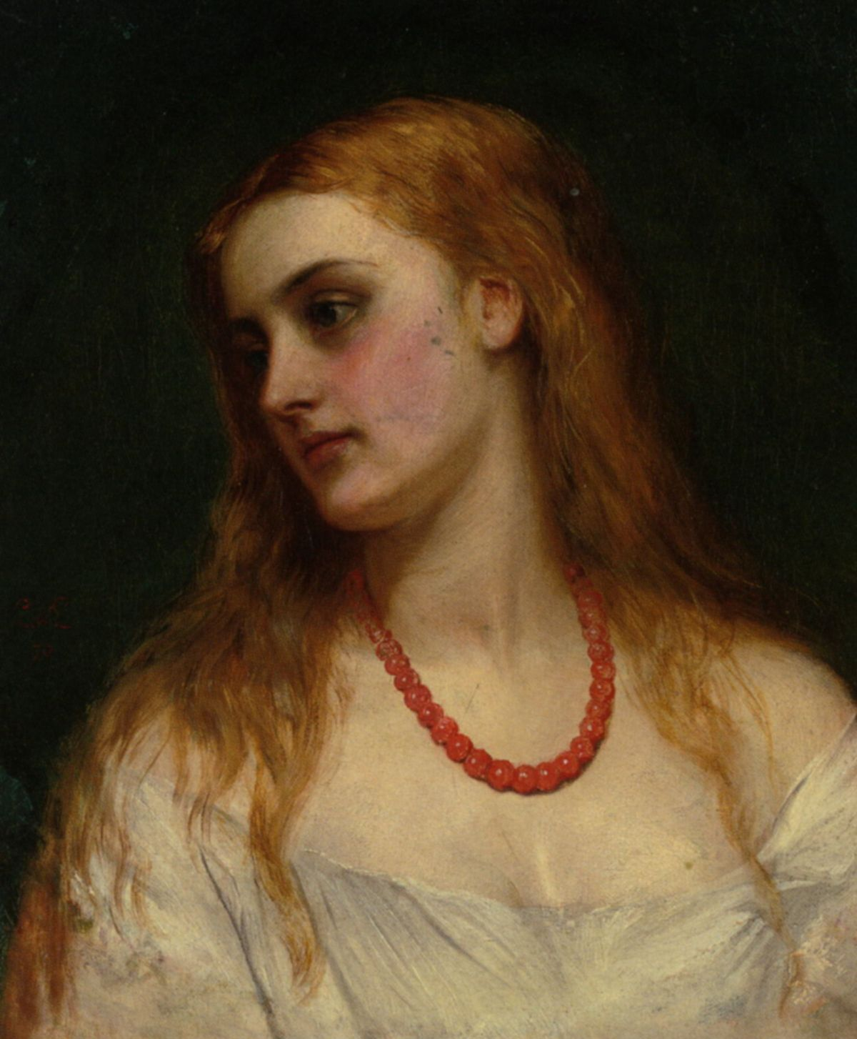 Ophelia by Charles Sillem Lidderdale