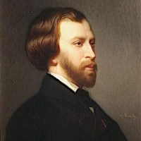 Alfred de Musset by Charles Zacharie Landelle