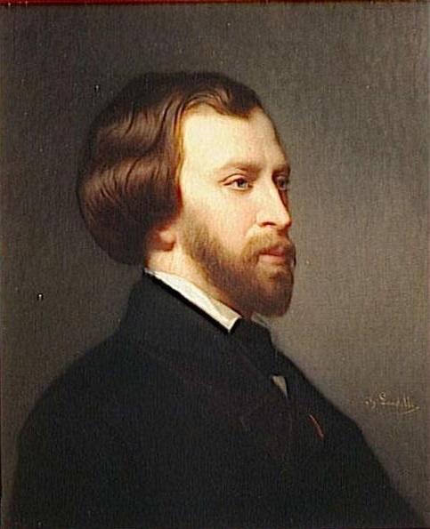 Alfred de Musset by Charles Zacharie Landelle