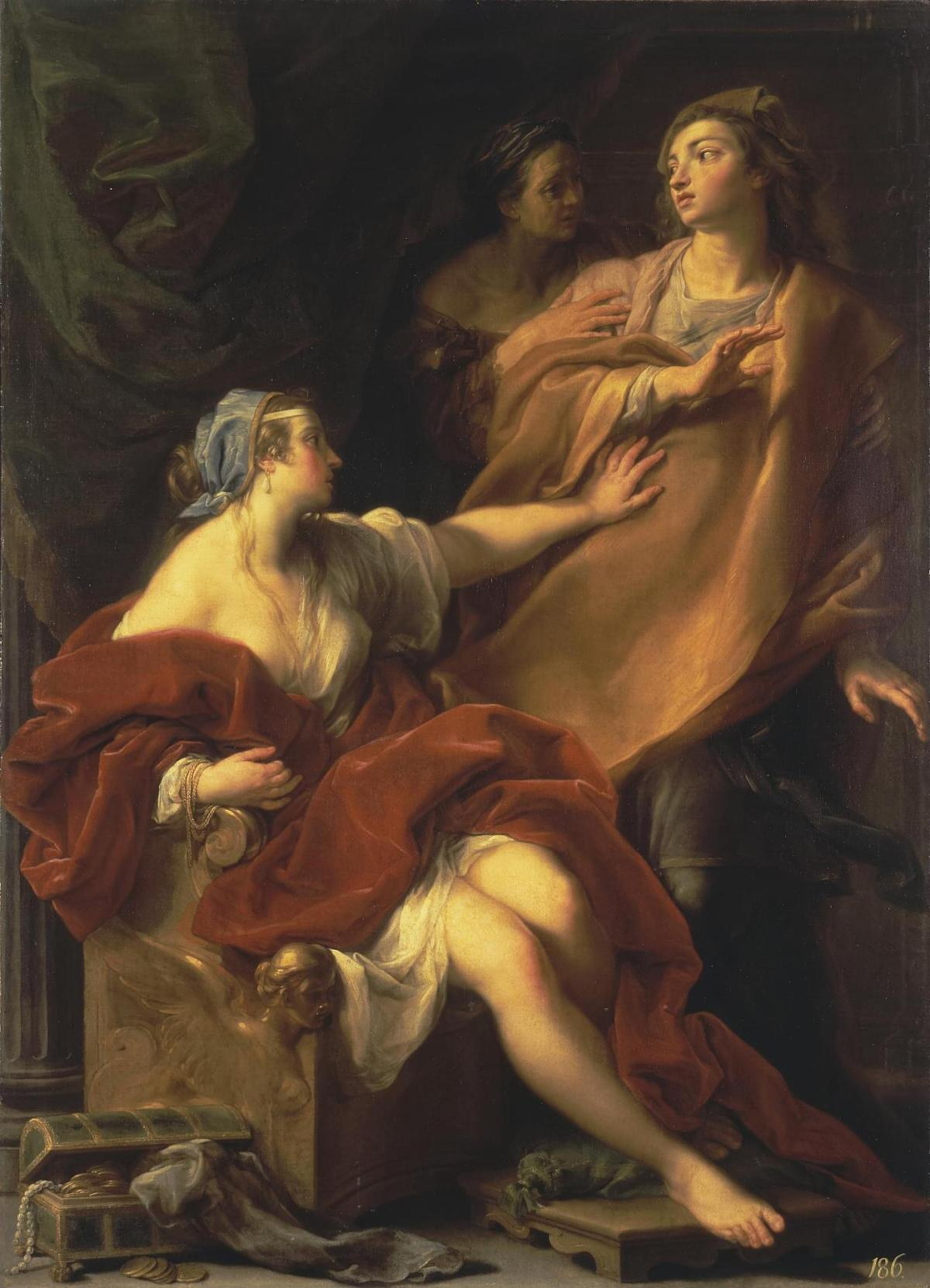 Allegory of Voluptuousness by Pompeo Girolamo Batoni