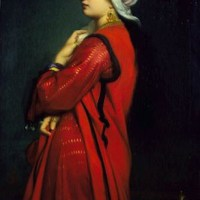 An Armenian Woman by Charles Zacharie Landelle