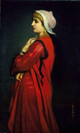 An Armenian Woman by Charles Zacharie Landelle