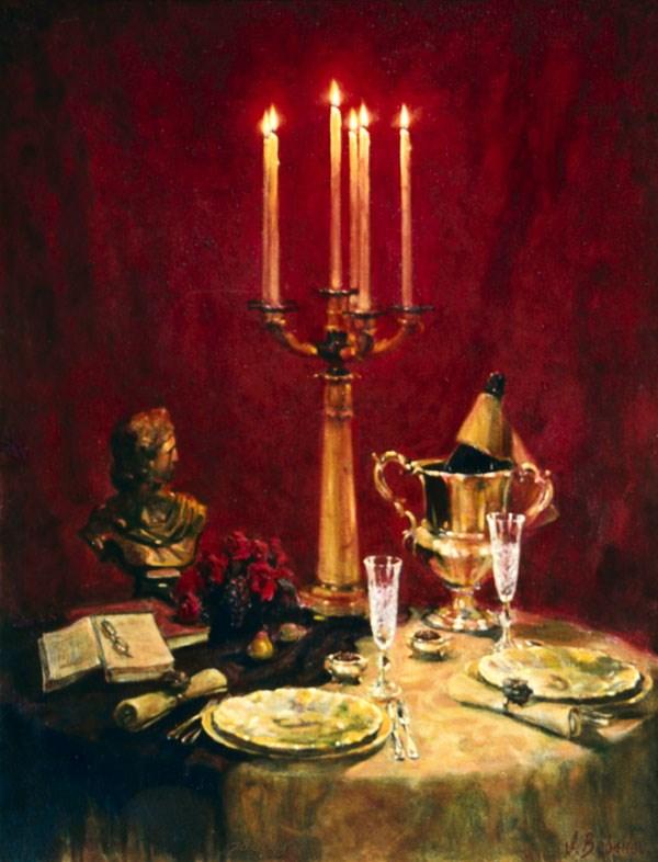 Dinner for two by Igor V. Babailov