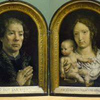 Diptych of Jean Carondelet by Jan Gossaert (Mabuse)