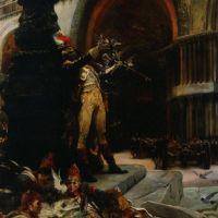 Le Dompteur de Pidgeons by Georges Jules Victor Clairin