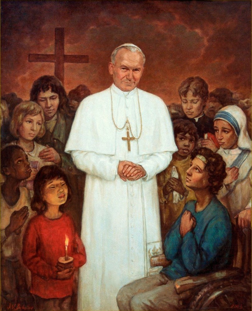 Portrait of Pope John Paul II by Igor V. Babailov
