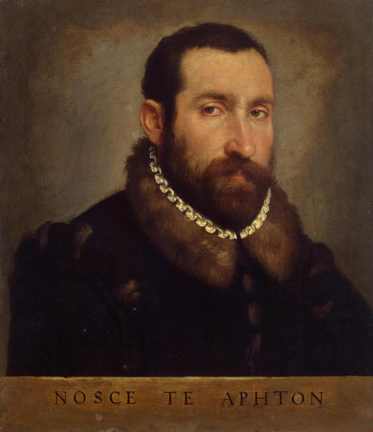 Portrait of a Man by Giovanni Battista Moroni