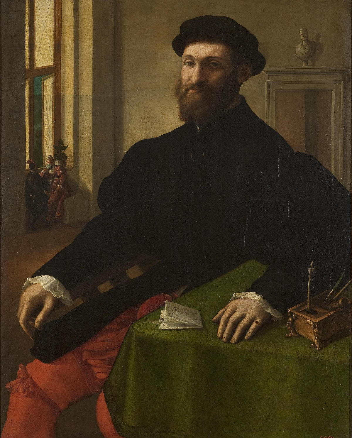 Portrait of a Man by Giulio Campi