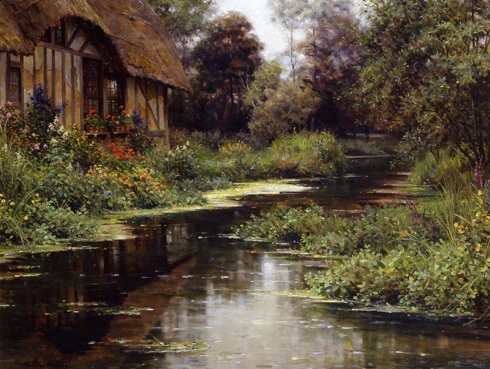 Summer Afternoon, Normandy by Louis Aston Knight