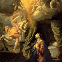 The Annunciation by Giovanni Lanfranco