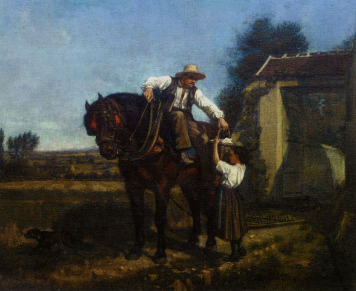The Ploughmans Lunch by Edouard Frere