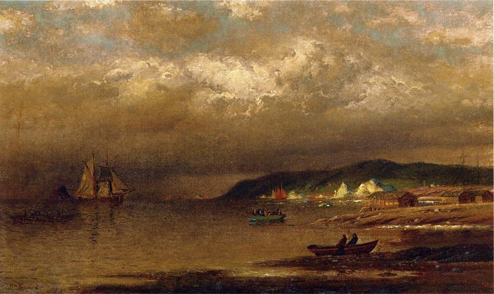 Coast of Newfoundland by William Bradford