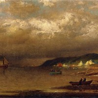 Coast of Newfoundland by William Bradford
