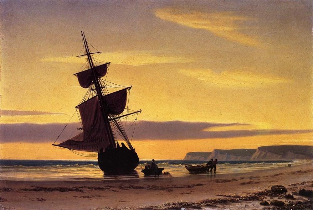 Coastal Scene by William Bradford
