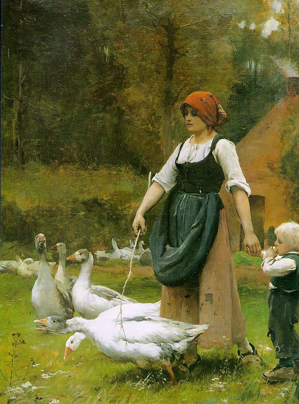 In the Meadow by Julien Dupre