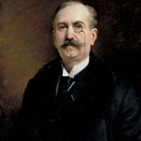 Portrait de M.G. Broustet by Edouard Bernard Debat Ponsan