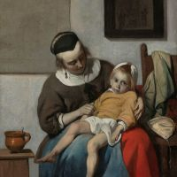 The Sick Child by Gabriel Metsu