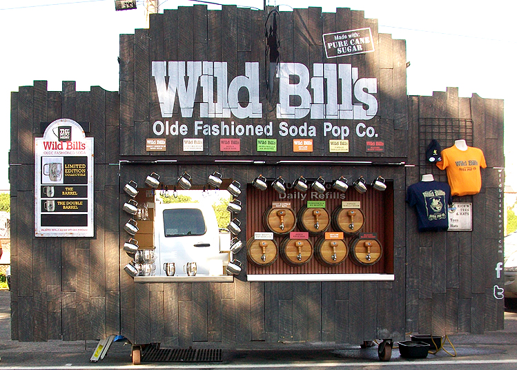 Syracuse Nationals - Wild Bills Olde Fashioned Soda Stands
