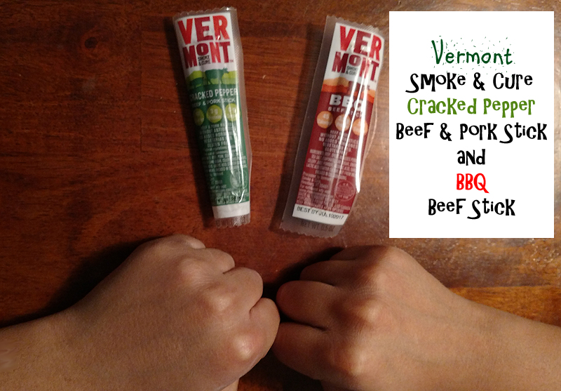 Vermont Smoke & Cure Sticks from Great Kids Healthy Snacks Box