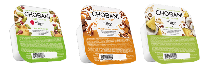Chobani Greek Yogurt Flips
