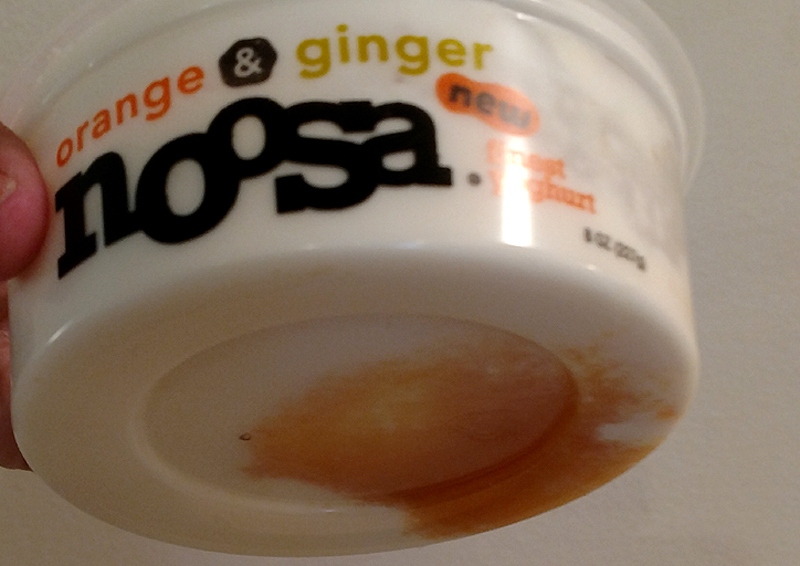 Fruit on the Bottom of Noosa Yogurt