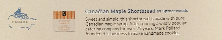 Try the World Pantry – Canadian Maple Shortbread Description