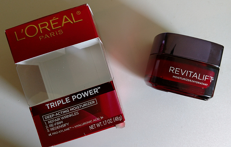 Loreal Paris Revitalift Moisturizer Packaging