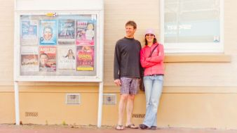 Mark and Wanda for ABC Open Snapped: Two. Photo by Ruslan Kulski