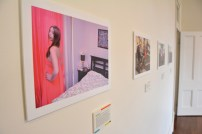 View 2 of Photo + Story exhibition. Photo by Carensa Watts