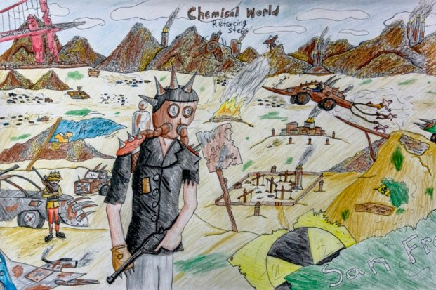 Chemical World by Daniel McLachlan. Photo by Rob Cox