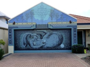 Andrew Frazer mural view 1. Photo by Sam Everitt