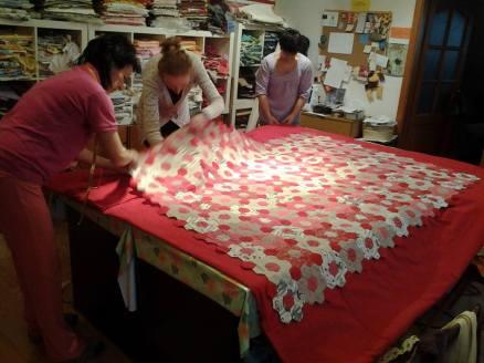 ako sa šije patchworková deka