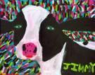 "Jimmy Reagan 2012 Acrylic on canvas 16"" * 20"""