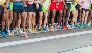 Racers at the Starting Line