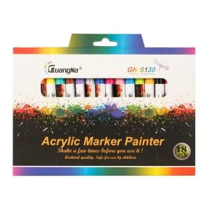 Acrylic Paint Marker 18 Colors 0.7mm