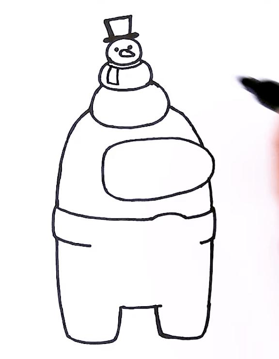 FireShot Capture 070 1 How to Draw AMONG US Snowman Christmas 3 YouTube www.youtube.com