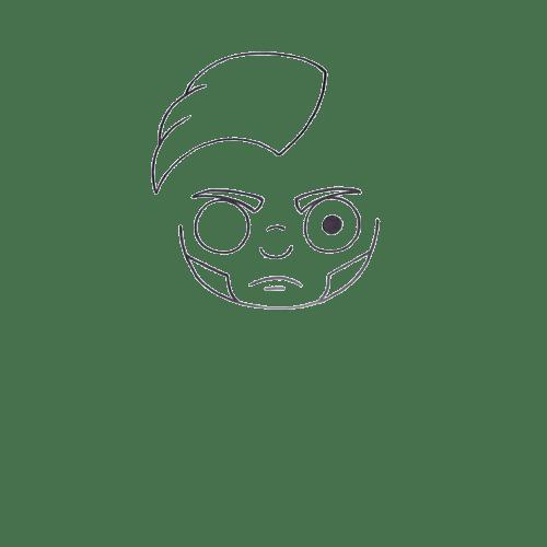 How to draw Fortnite Midas