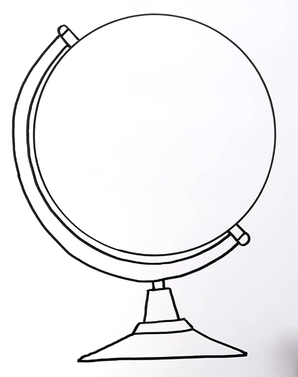 How To Draw A Globe 4 40 screenshot