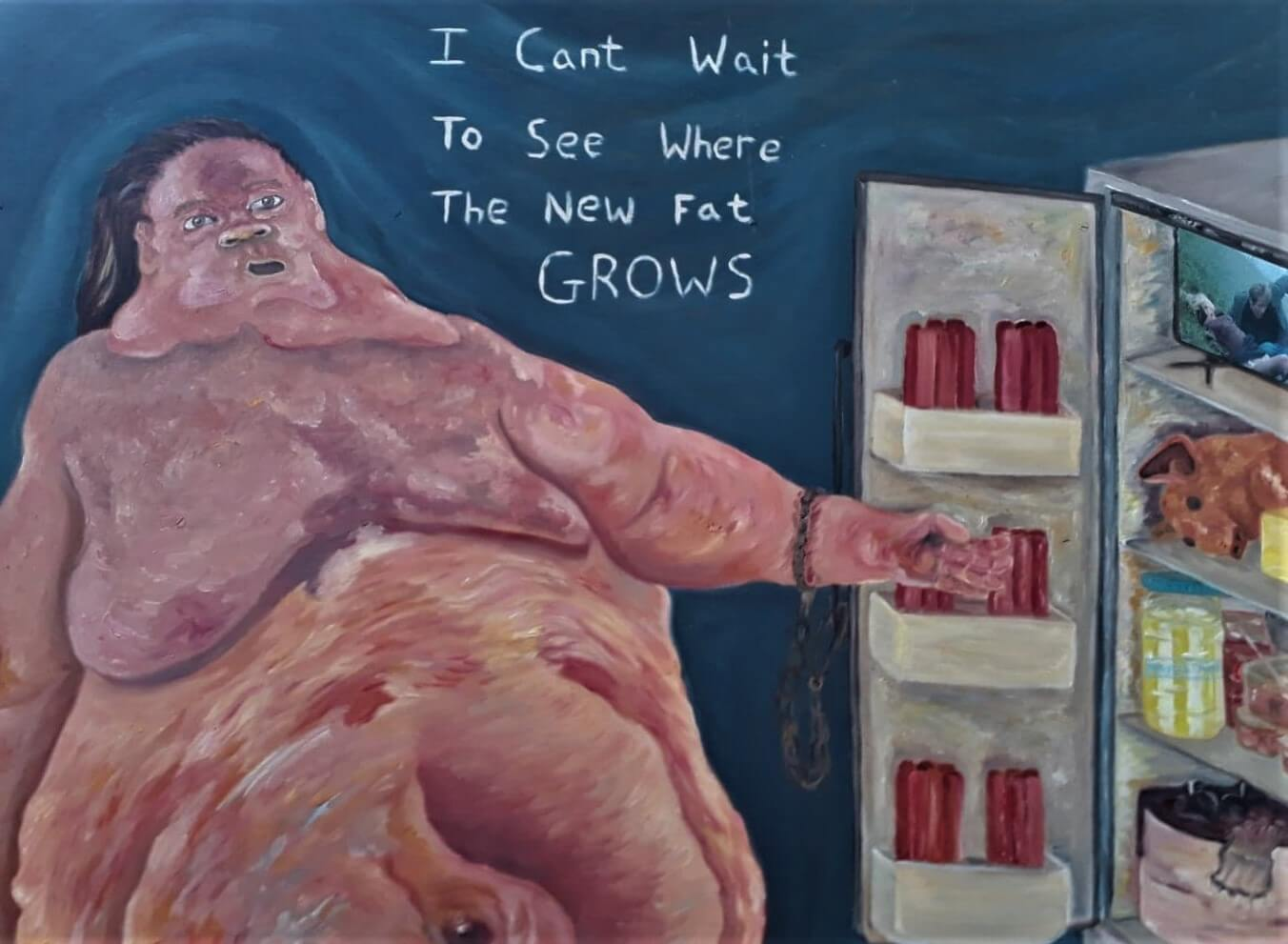 Michael Hanrahan shows the absurdity of the day-to-day | Art Plugged