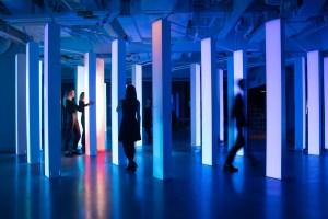 Hush installation interactive
