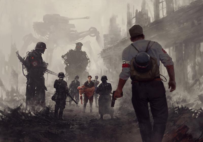 Jakub Różalski: lnsurrection de Varsovie 1944 (jrozalski.com).