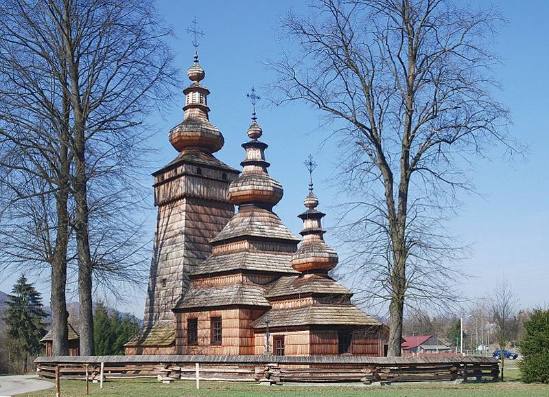 Église grecque-catholique de Saint Paraskeva à Kwiatoń