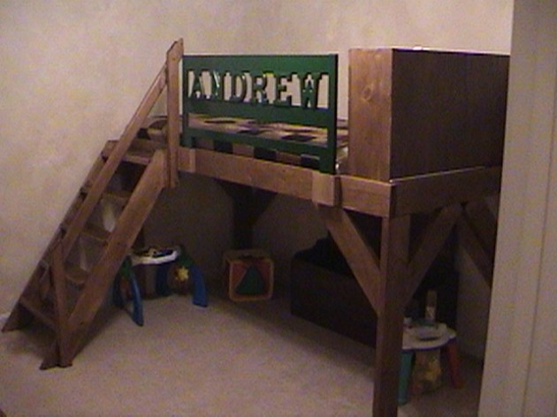 Build Homemade Bunk Bed Ideas Diy Rocking Horse Plans