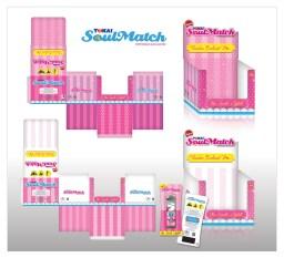 Soulmatch pack design