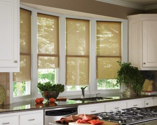 Шторы на кухню. Дизайн кухонных штор — обзор и фотоподборка