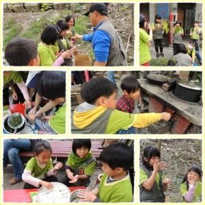 兵營-野外炊食outdoor cooking in the camp