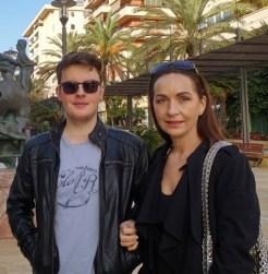 我的太太和兒子 Susan and Arran