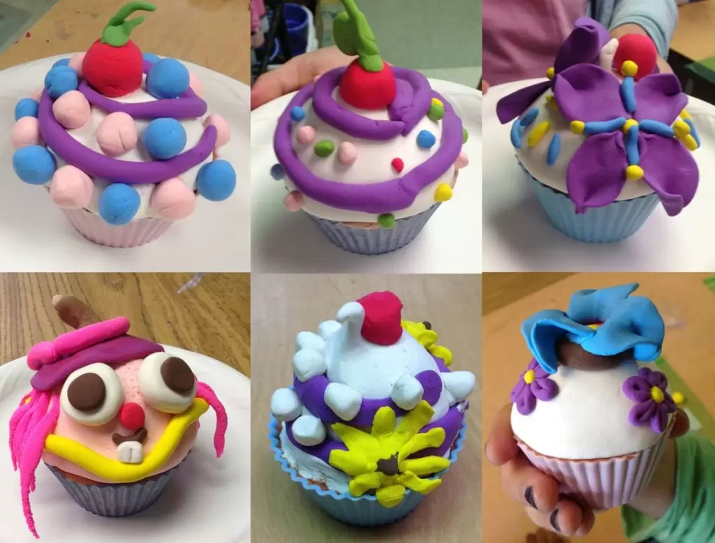 Model Magic Cupcakes · Art Projects for Kids on Model Ideas  id=74665